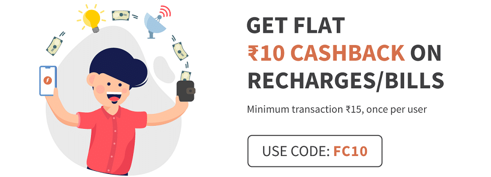 Freecharge Coupons September 2019 - Recharge & Bill Payment