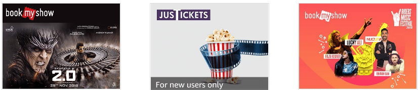 Amazon pay offer on movie tickets