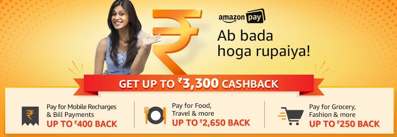 Amazon Pay cashback offers