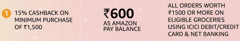 Amazon Super value day ICICI bank offer
