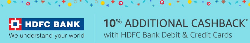 Amazon HDFC Cashback Offer