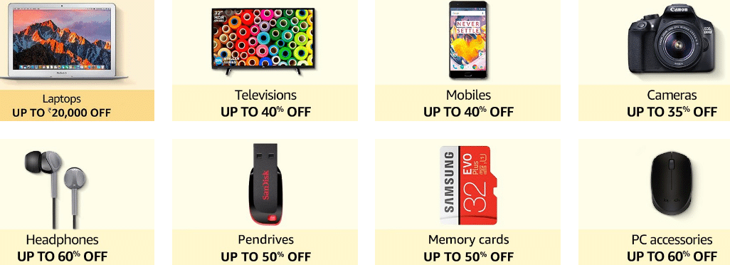 Amazon Diwali Sale Offers