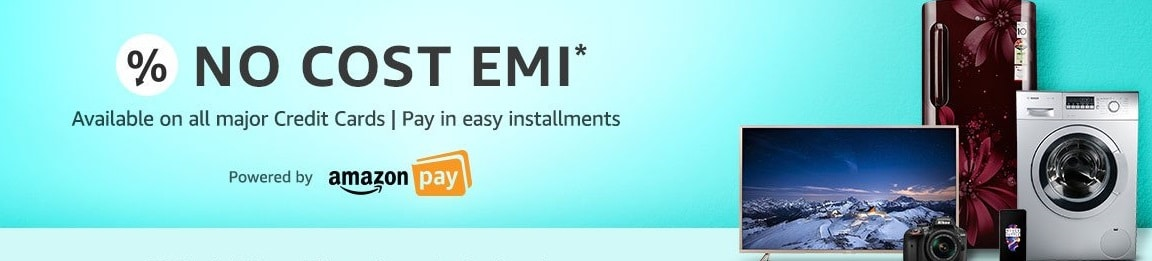 Amazon No Cost EMI Offer