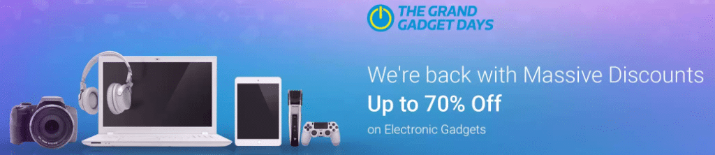 Flipkart Grand Gadget Days is Back