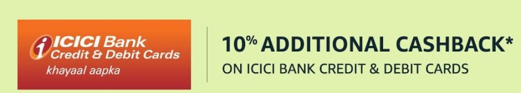 Amazon ICICI Bank Cards Offer