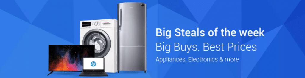 The Flipkart Big Steals of the Week