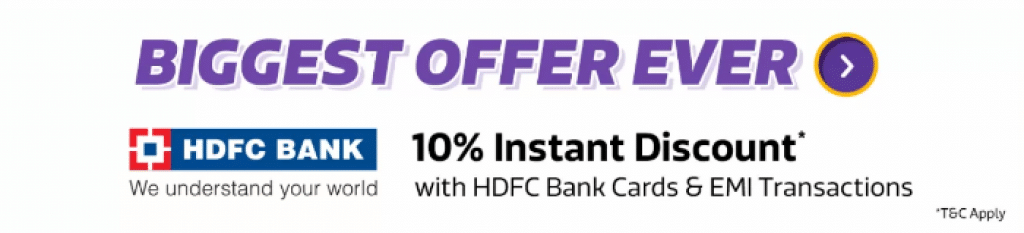 Flipkart HDFC Bank Debit & Credit Cards Offer