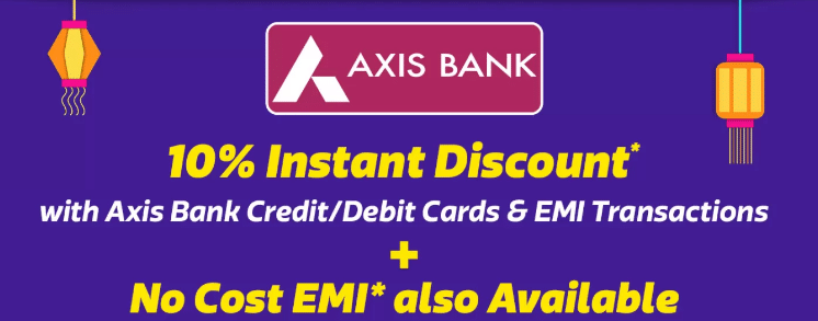 How to make rd in axis bank online payment using debit card