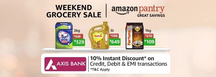 Amazon Weekend Grocery Sale