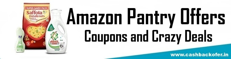 Amazon Pantry Offers, Coupons and Crazy Deals