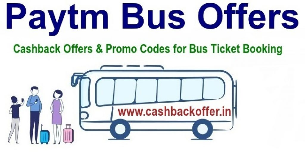 Paytm Bus Offers & Coupons Sep 2019: 50% Cashback on Bus Tickets