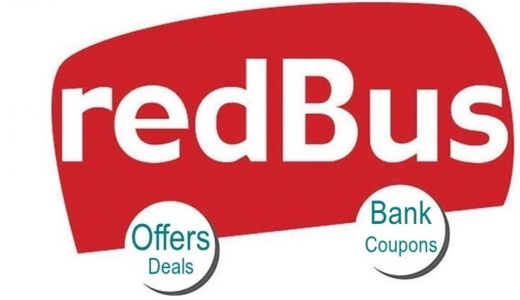 redBus bus booking Offers, Bank Coupons and best deals