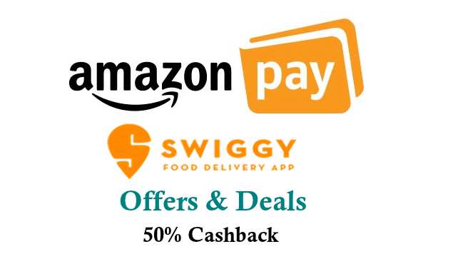 Amazon Pay Swiggy Offers and cashback coupons