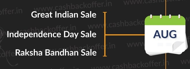 August Has Many Good Things In Store For Amazon India Lovers Because It Presents Two BIG Sales That Succeed Sweeping Them Off Their Feet The