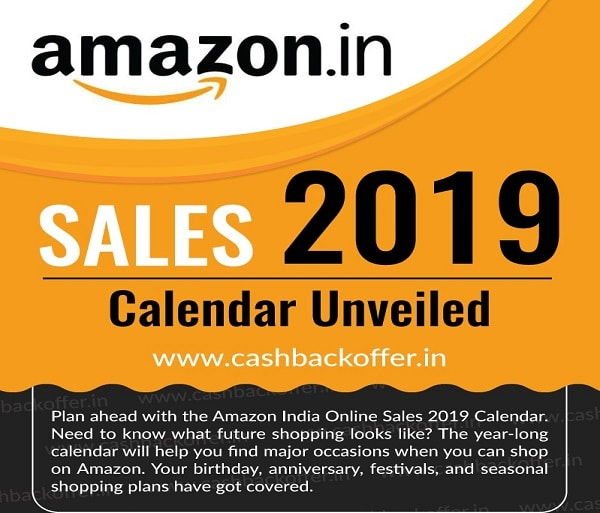 If Yes Then Have A Look At The Amazon Upcoming Sale Dates And Expected Offers In 2019 Accordingly Plan Your Purchase