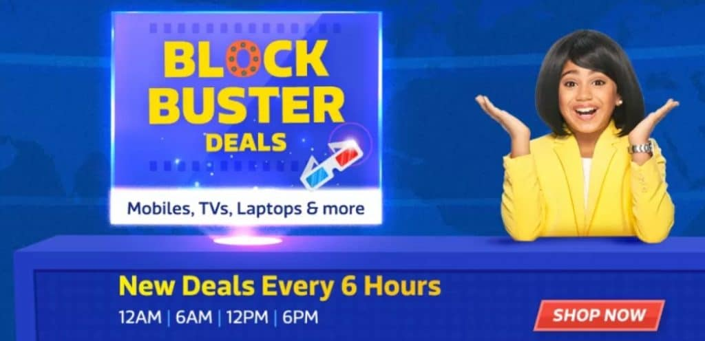 Flipkart Big Saving Days Sale blockbuster deals