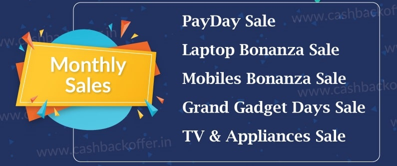 Flipkart Monthly Sales