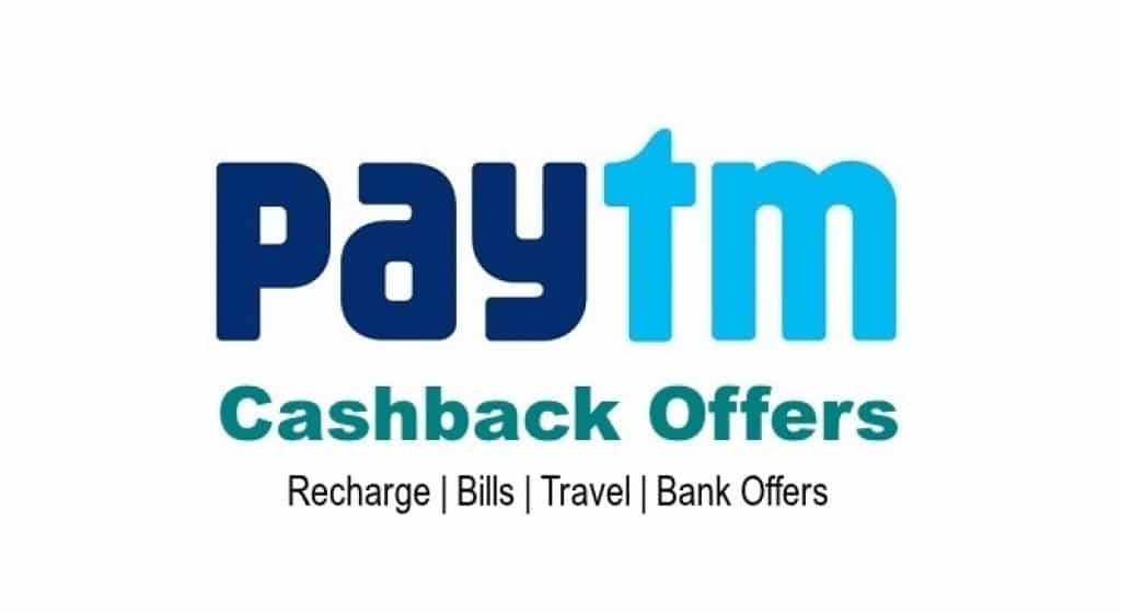 Paytm Offers and coupons
