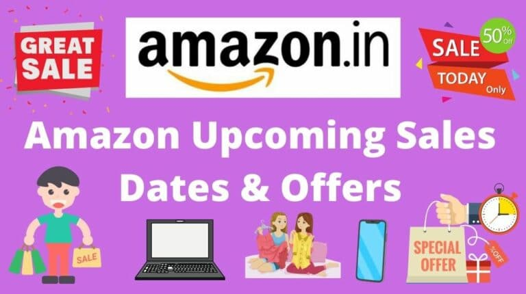 amazon upcoming sales offers & dates