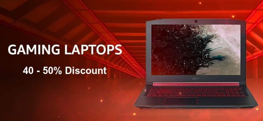 Amazon Offers on Gaming Laptops