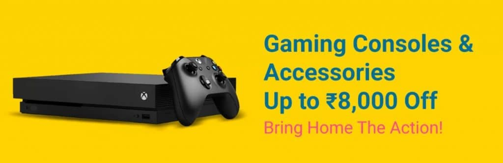 Flipkart Grand Gadget Sale Offers on Gaming Consoles