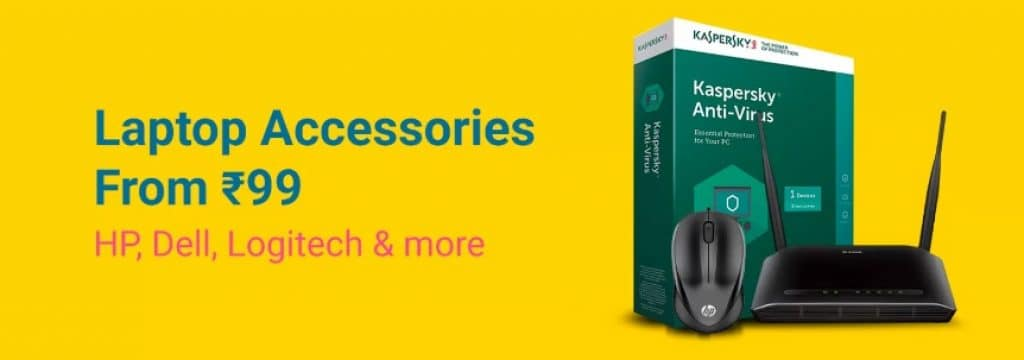 Flipkart Offers on Laptop Accessories