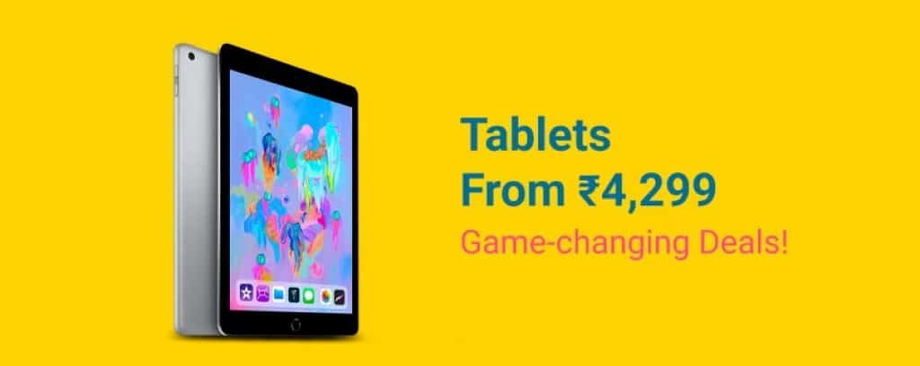 Grand Gadget Days Sale deals on Tablets