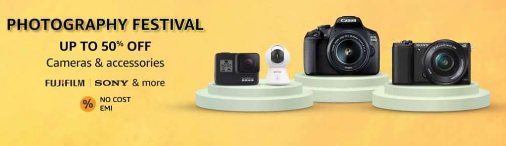 Amazon New Year Offers on Cameras