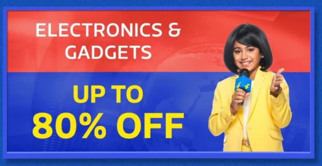 Flipkart Big Shopping Days Discount on Electronics