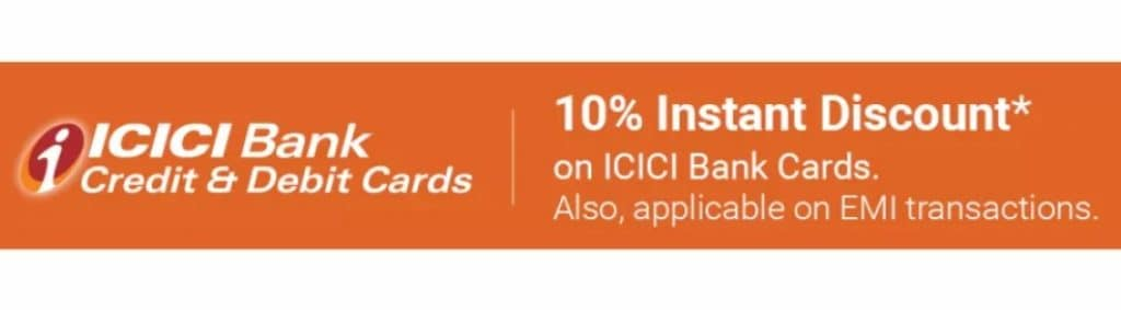 Flipkart ICICI Cards Offer