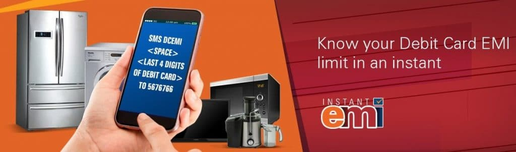 Check ICICI Debit card EMI eligibility on Flipkart
