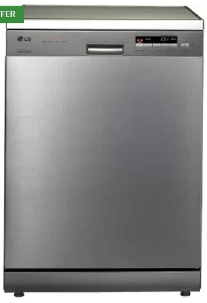 LG D1452CF Free Standing 14 Place Settings Dishwasher