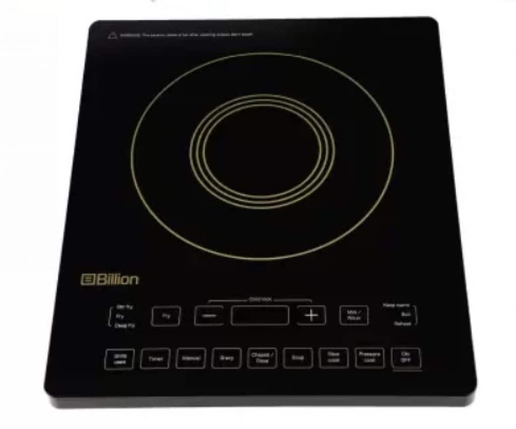 Billion Full Glass XC125 2200W Induction Cooktop
