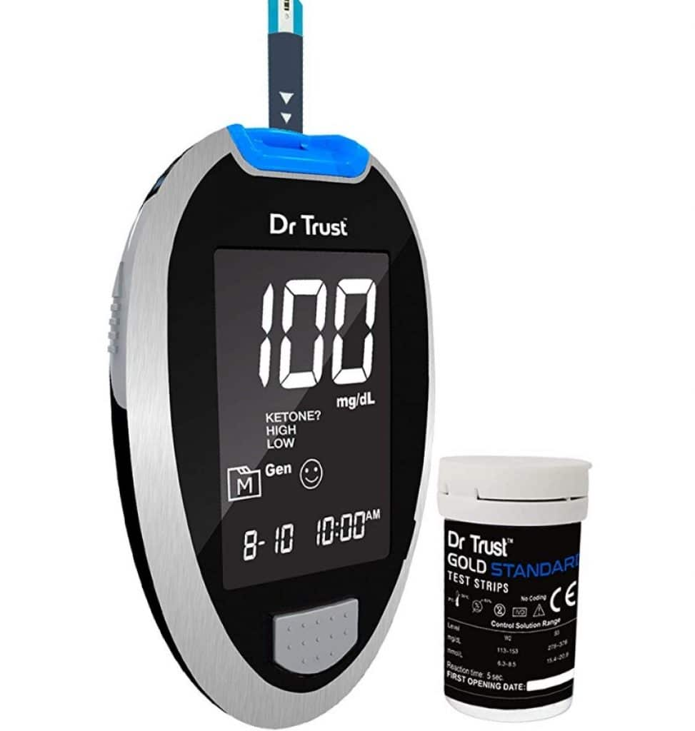 Dr Trust (USA) Fully Automatic Blood Sugar Testing Glucometer