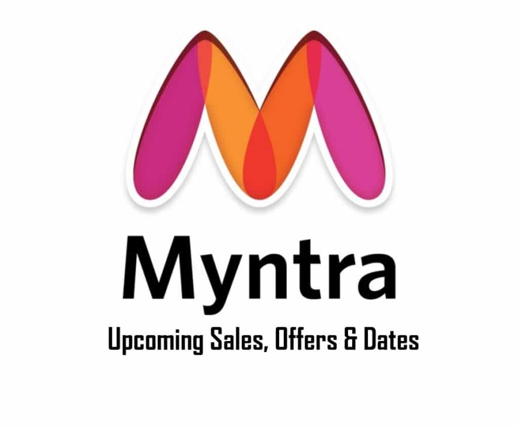 Upcoming Myntra Sales and Offers