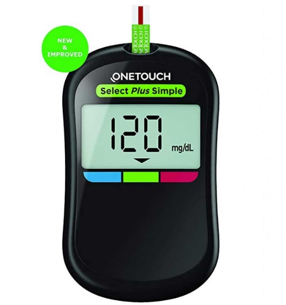 OneTouch Select Plus Simple Glucometer