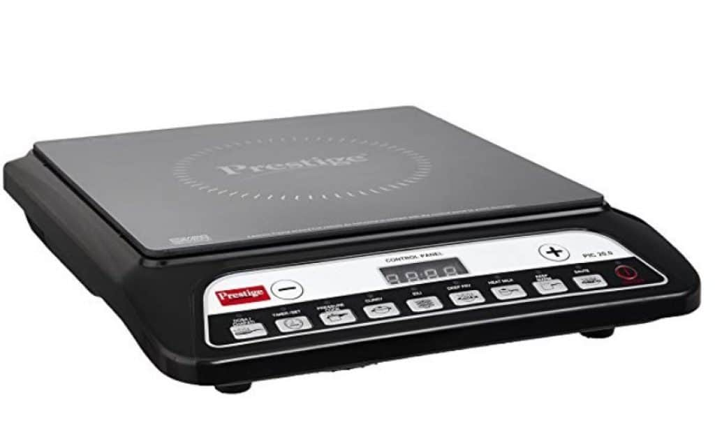 Prestige PIC 20 1200-Watt Induction Cooktop with Push Button