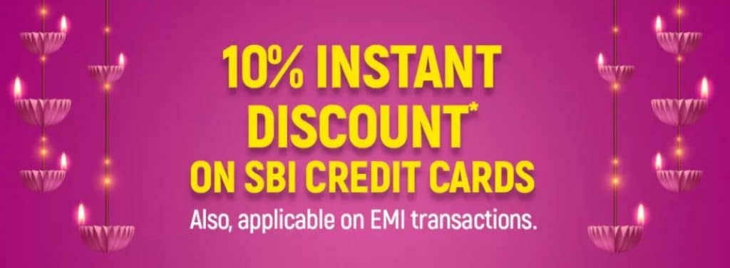 Details of SBI Offer on Flipkart