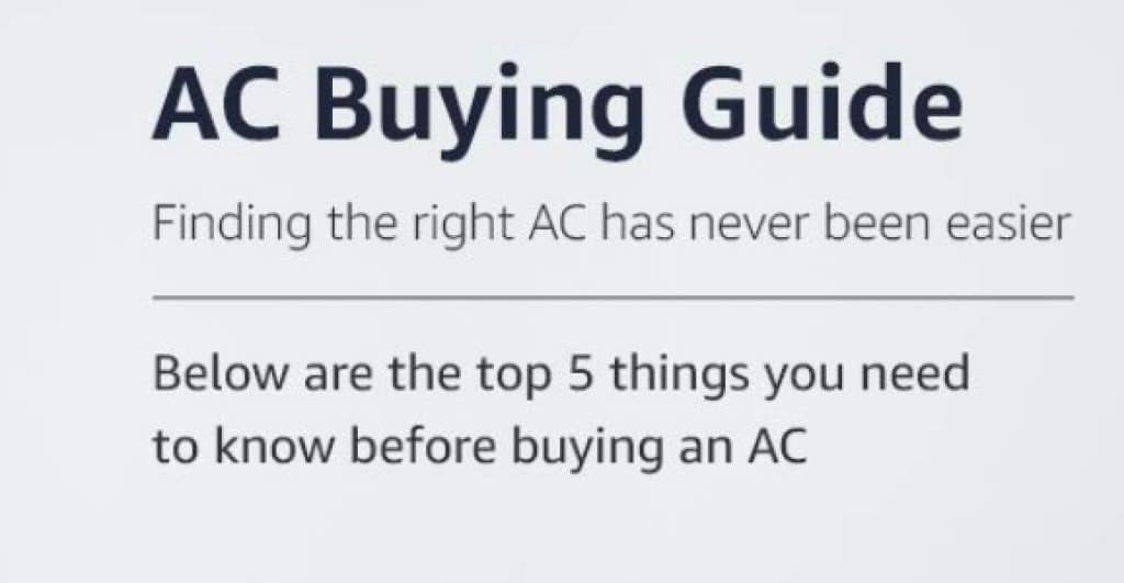 Complete Buying Guide for Inverter AC