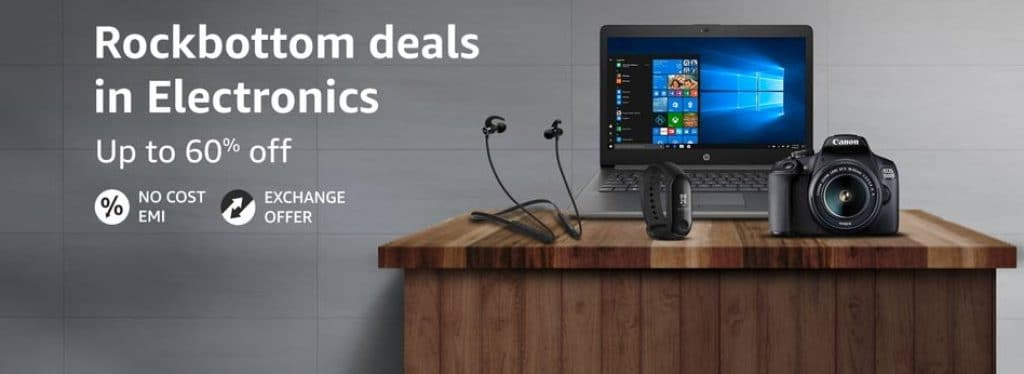 Amazon Electronics Sale April 2021