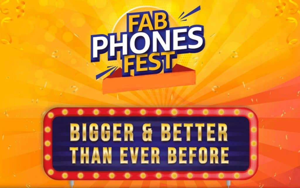 Amazon Fab Phone Fest Sale