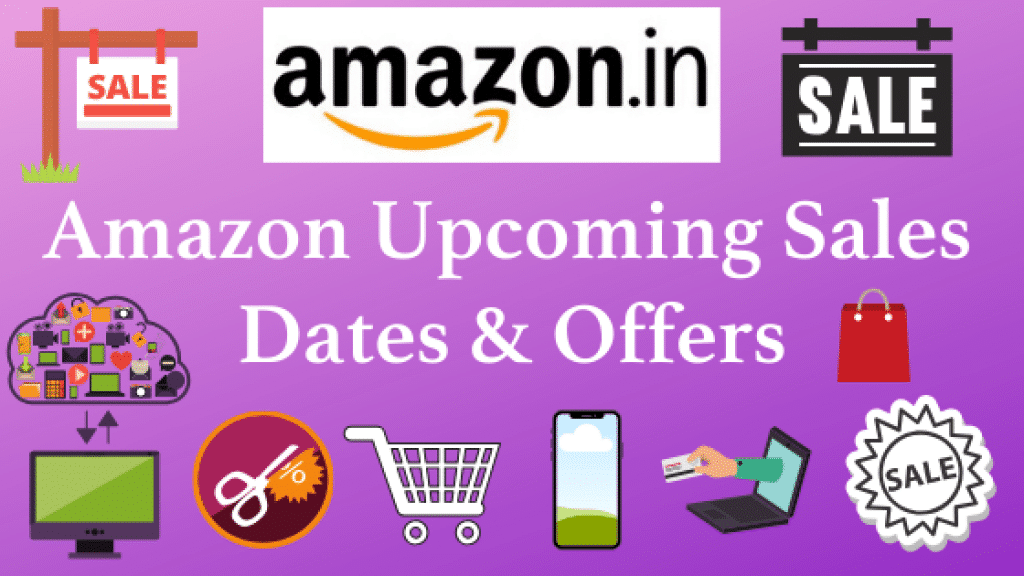 Amazon Upcoming Sales