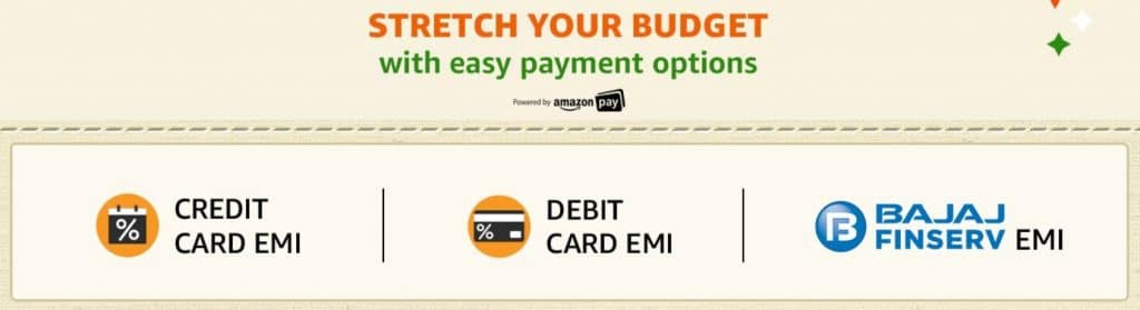Amazon Easy Payment Options