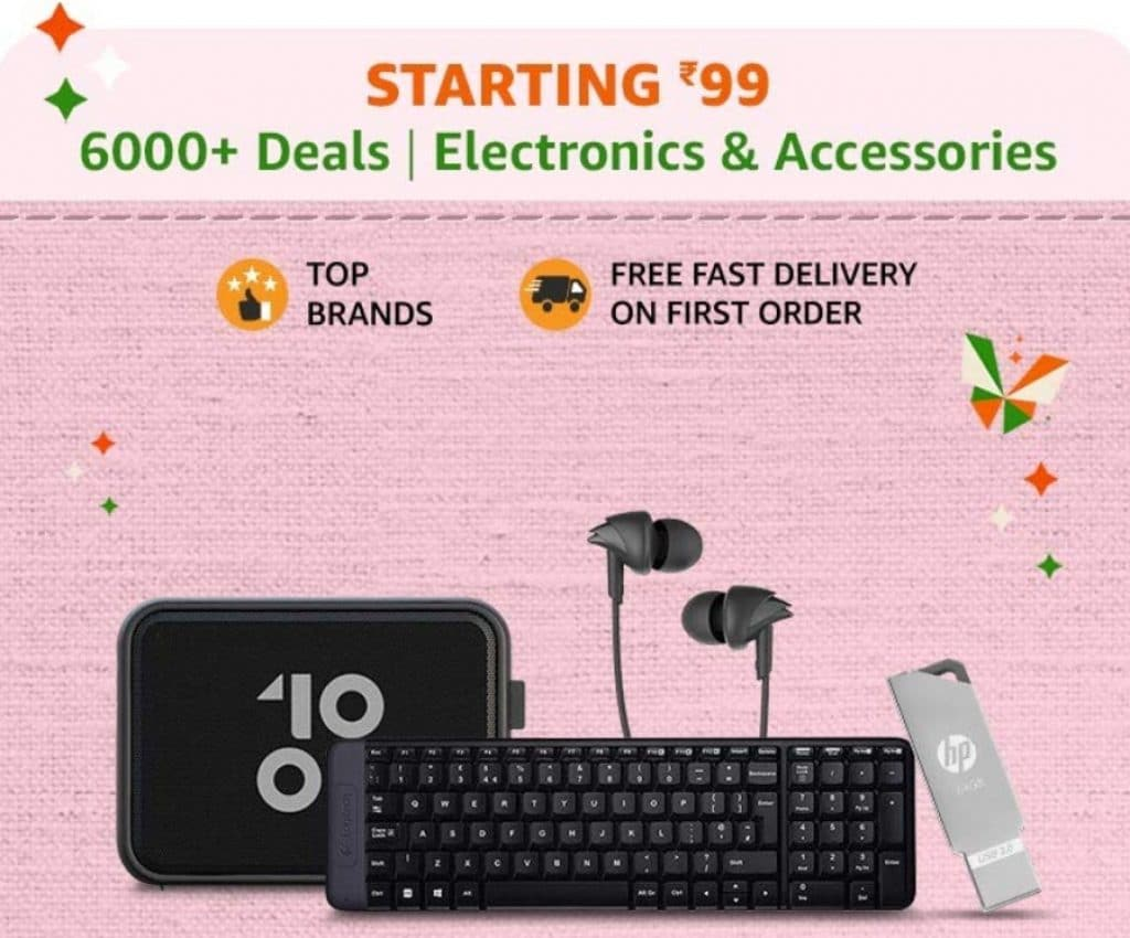 Amazon India Sale Offers on Electronics