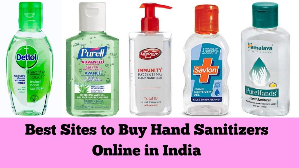 Best Sites to Buy Hand Sanitizer in India