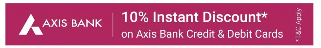 Flipkart Mobiles Bonanza Sale Axis bank offer