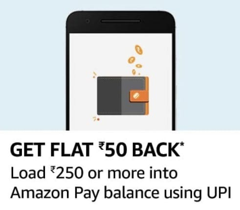 Amazon Pay UPI ADD Money Offer