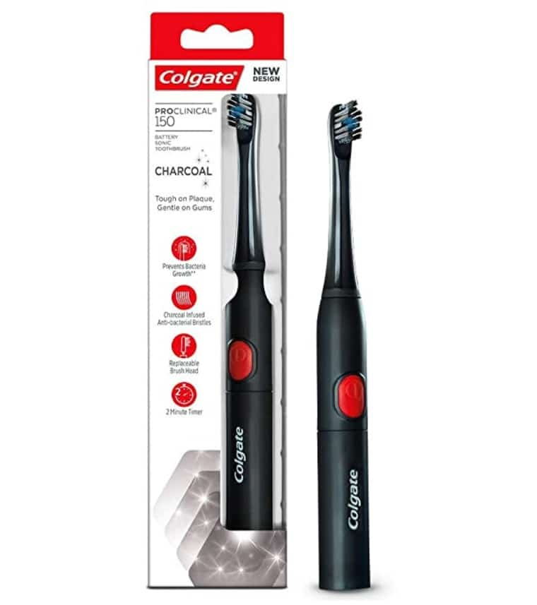Colgate PROCLINICAL Sonic Battery Powered Electric Toothbrush