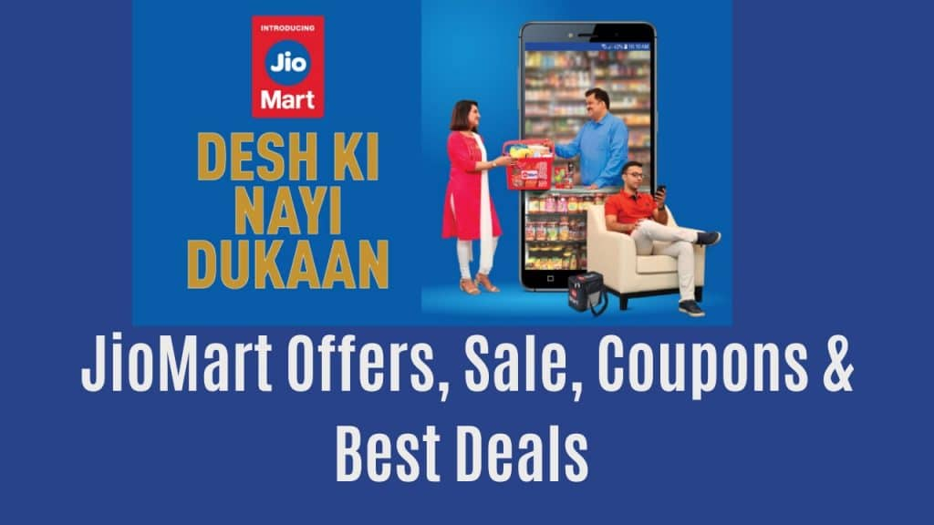 Jiomart Offers , Sale, Coupons and deals