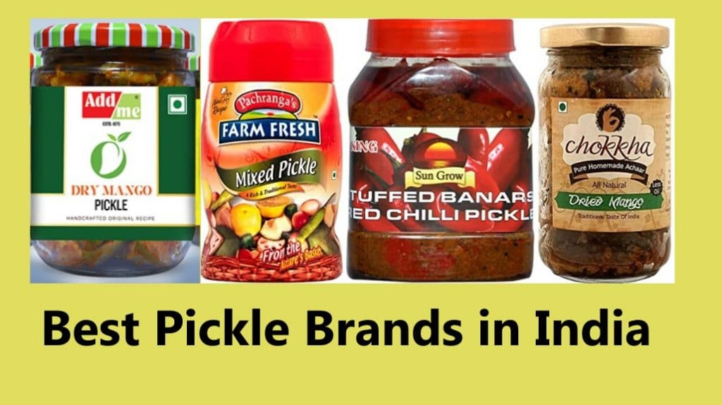 Popular and Best Pickle Brands in India